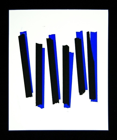 AMAZING GREAT #blue #minimal #art