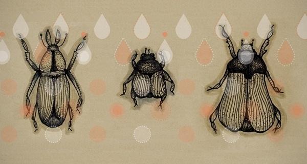 Bugsket on the Behance Network #bugs #pattern
