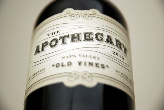 The Apothecary Wine Packaging | Blog | Planet Propaganda #label #wine