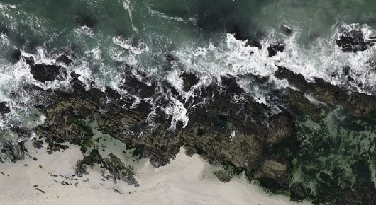 but does it float #aerial #rocks #sea #photography #beach #coast