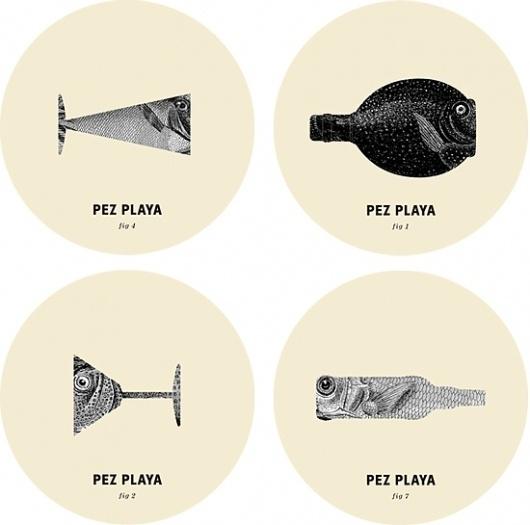 Pez Playa - Estudi de disseny grà fic i imatge corporativa RUN DESIGN #pez #design #graphic #rundesign #playa #identity