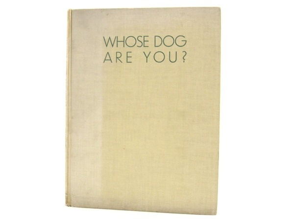Animalia — Whose Dog Are You? #cover #book #dog