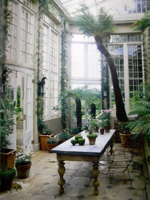 Jasper Conran Greenhouse #plants #greenhouse #photography #nature #england