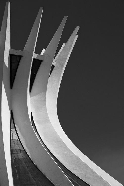 Architecture, Niemeyer #buttress #architecture #roofline