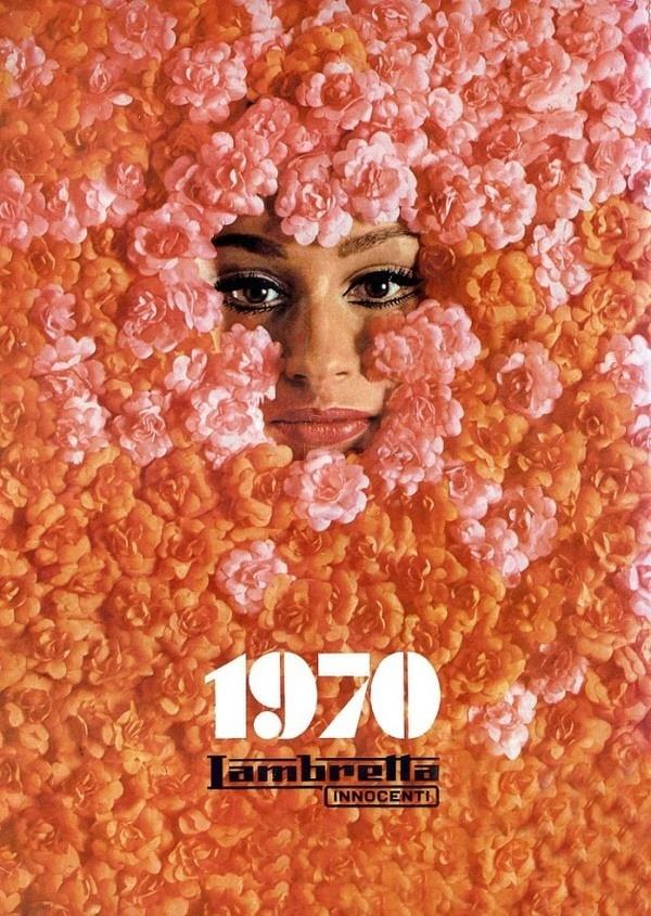 Lambretta Calendar - Retronaut #calendar #lambretta #1970