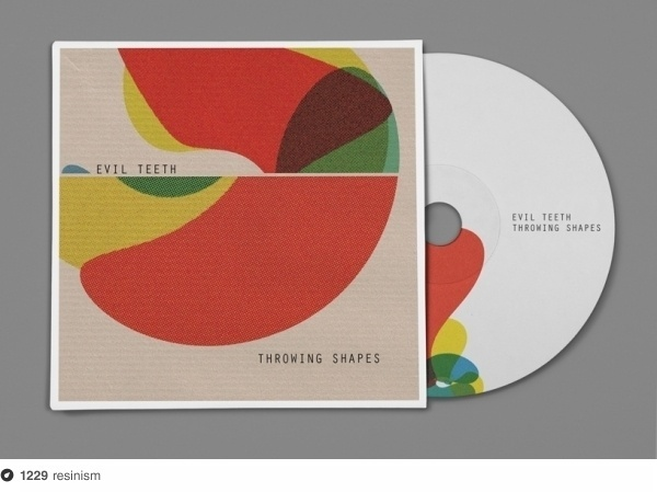 Evil Teeth–Throwing Shapes on Dropula - The inspirational catalogue #teeth #throwing #packaging #resinism #shapes #concept #evil #cd