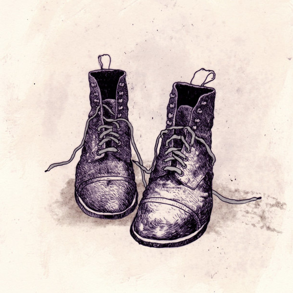 boots #boots #illustration #shoes