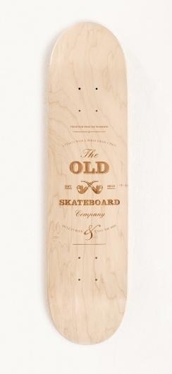 Old Skateboards / Limited Edition #skateboard