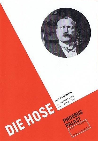 JanTschichold-FilmPoster #cover #bauhaus #simple #book