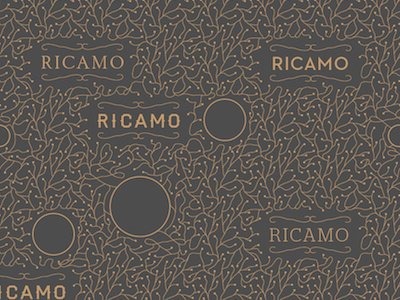 Ricamo #pattern #branding #stationary #portugal #kuwait #royal #wood #ricamo #studio #flower #branches