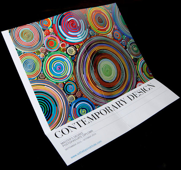 Sotheby's Contemporary design flyer by Ascend Studio #dm #design #flyers #contemporary