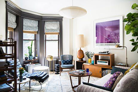 Brooklyn House Tour: Studio Four NYC Wallpaper | Apartment Therapy