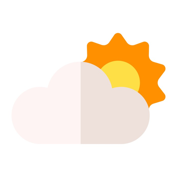 See more icon inspiration related to cloud, sun, clouds and sun, sunny, cloudy, meteorology, weather and sky on Flaticon.