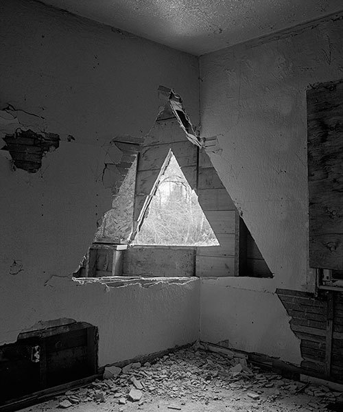 photographs by james nizam #white #installation #hole #black #photography #triangle #and