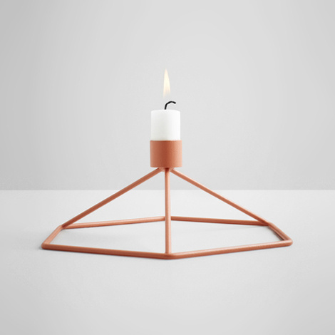 POV Candleholder by Note Design Studio #candle #design #industrial #candles