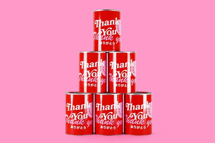 Thank You in a Can - Mindsparkle Mag Beautiful graphic design project entitle Thank You in a Can, by designer Marco Inve in London. #branding #corporate #design #identity #color #photography #graphic #design #gallery #blog #project #mindsparkle #mag #beautiful #portfolio #designer