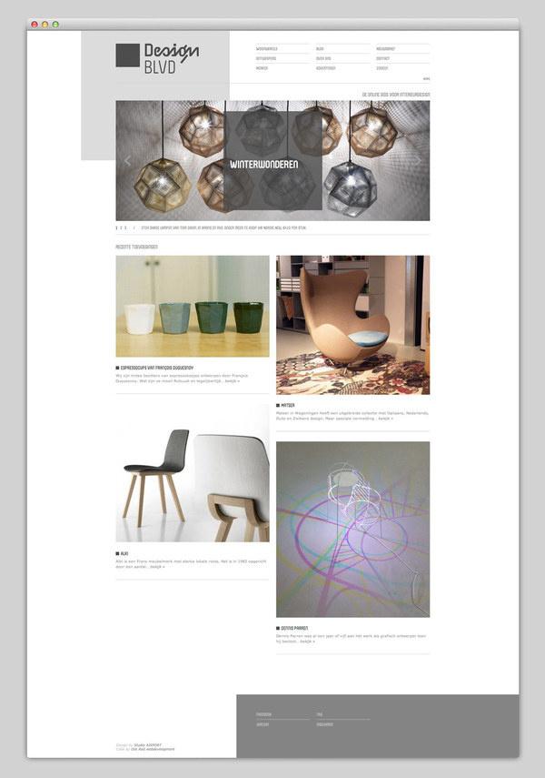DesignBlvd #website #grid #layout #web