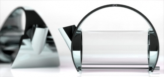Joey Roth, designer - contemporary and minimalist teapot, modern speaker system product designs #pot #design #tea #modern