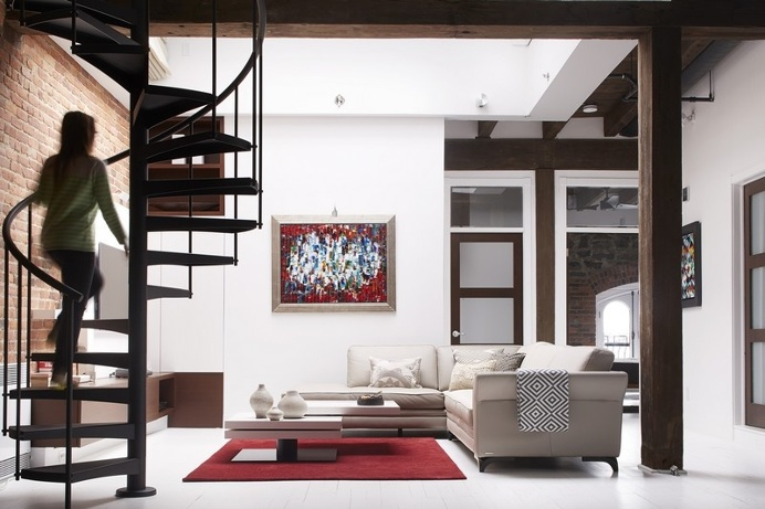 Loft Vieux Montreal by Manon Belanger