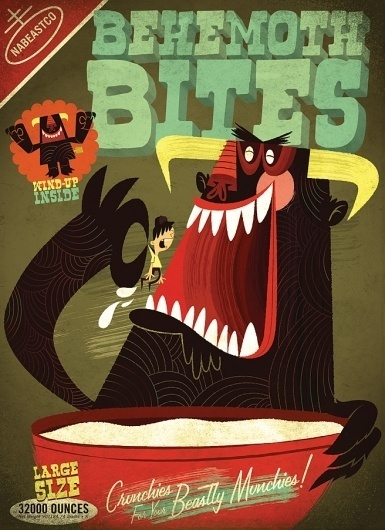 Beastie Bites | The Beast is Back #colourful #beast #vibrant #retro #is #the #illustration #back #fun