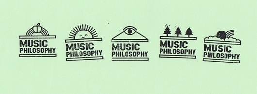 Music Philosophy Stamps | Flickr: Intercambio de fotos #branding