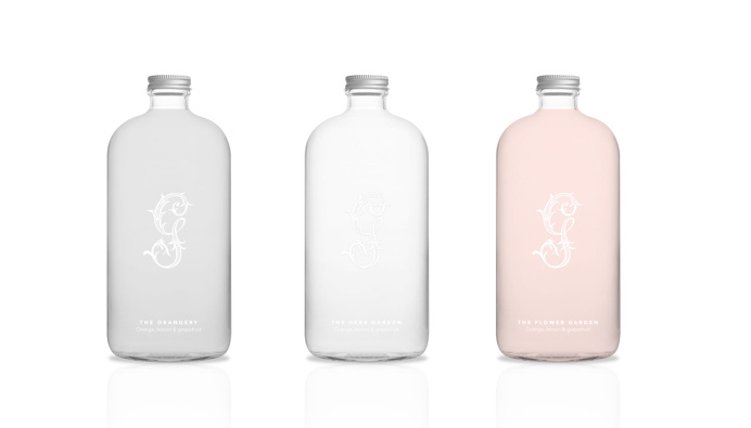pink, white, bottle, design, package, packaging