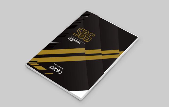 Derby County - Shaun Barker Testimonial - Testimonial Match Programme - Mock-up #brochure #football #soccer #match #programme #design #testi