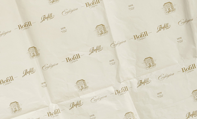 bofill ecologica branding packaging meat food package salami carne beautiful gold deluxe luxury business card identity inspire logo logotype