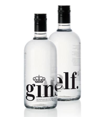 Ginself Packaging by Conca & Marzal #packaging #conca #marzal