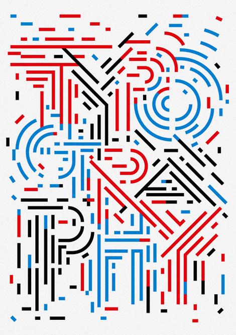 Typography poster by Sasaki Shun #poster #typography