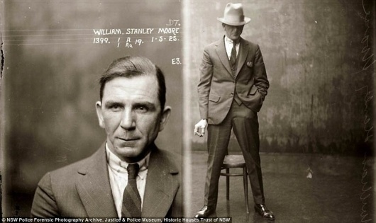 They don't make mugshots like this anymore: Amazing police photos of 1920s criminals arrested in Australia | Mail Online #photography #mugshot