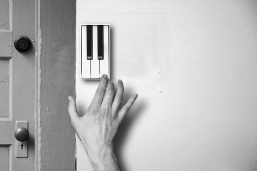 Tumblr #piano #product #music #doorbell #guest