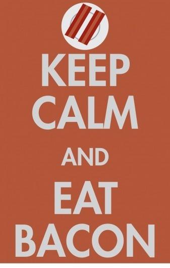 andrechang #design #graphic #calm #poster #keep #bacon