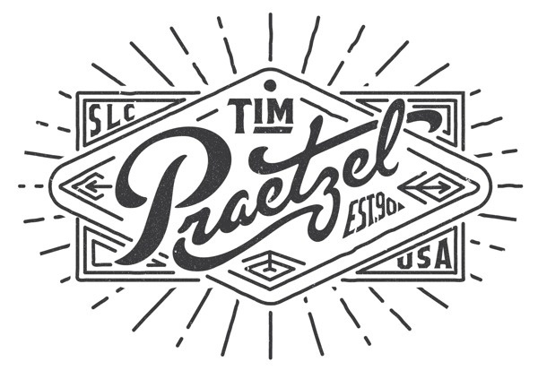 Tim Praetzel type lettering #beautiful #logo #lettering #praetzel