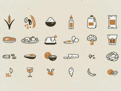 Paleo 1 #thanksgiving #icons #food