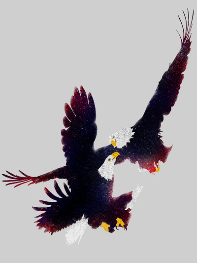 Art Print #politic #design #graphic #illustration #animals