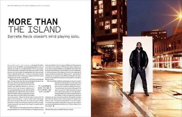 nike sportswea #layout #design #magazine #typography