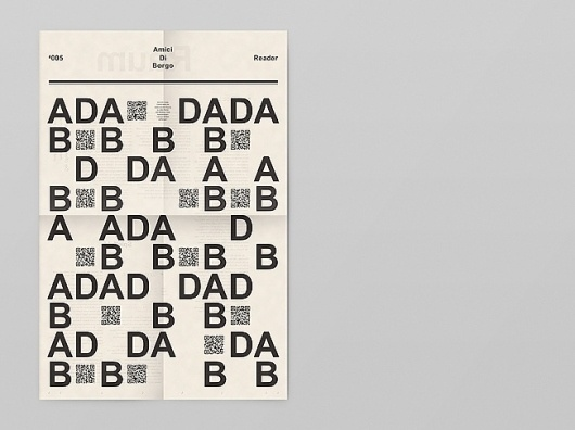 Notter + Vigne #poster #typography