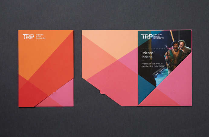 Print for Theatre Royal Plymouth designed by Spy #print #design #folder
