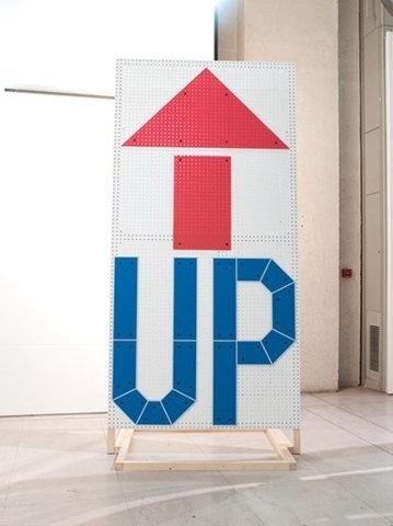 FFFFOUND! | No Days Off ~ Work #sign #arrow #typography