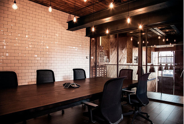 CJWHO ™ (Great wood office by Ubiquitous / UK After...) #creative #amazing #office #design #interiors #wood #architecture #ubiquitous