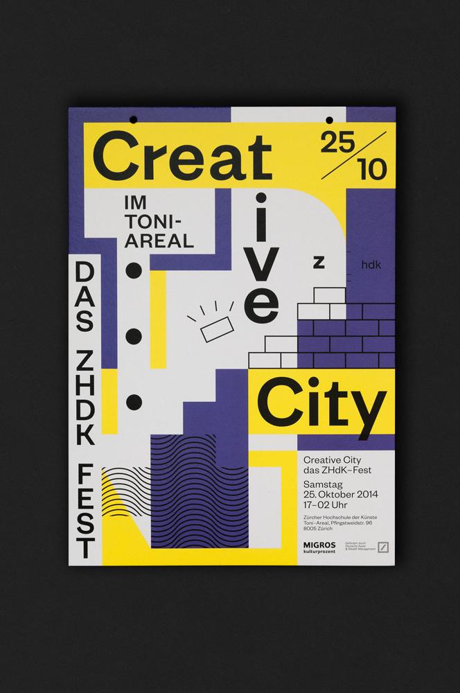 Creative City Creative City Zurich Opening Ceremony visual design