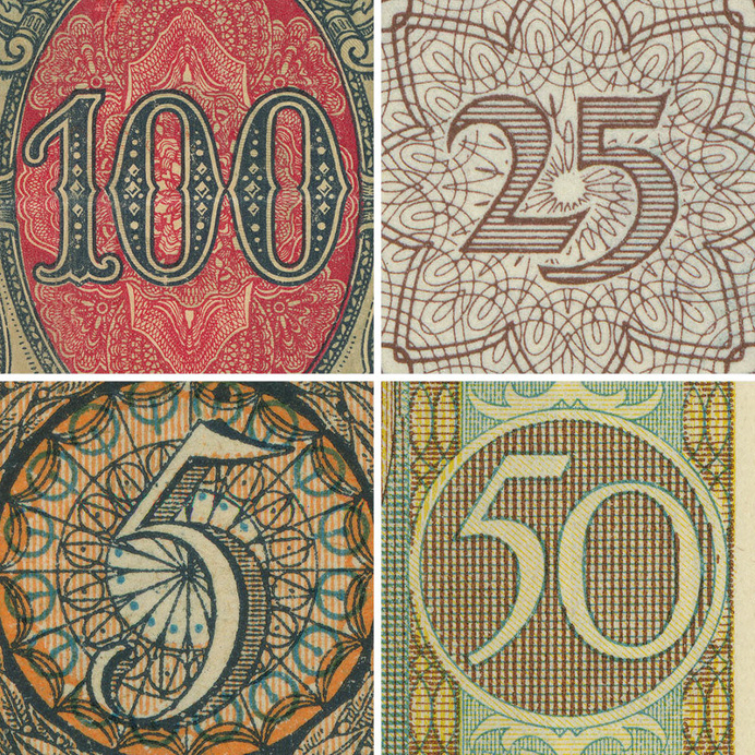 Banknote Lettering – Tobias Frere-Jones