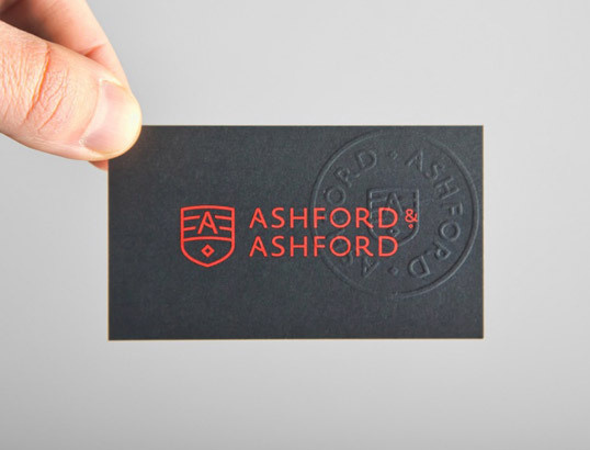 lovely package ashford and ashford 1 #red #stationary #business #card #print