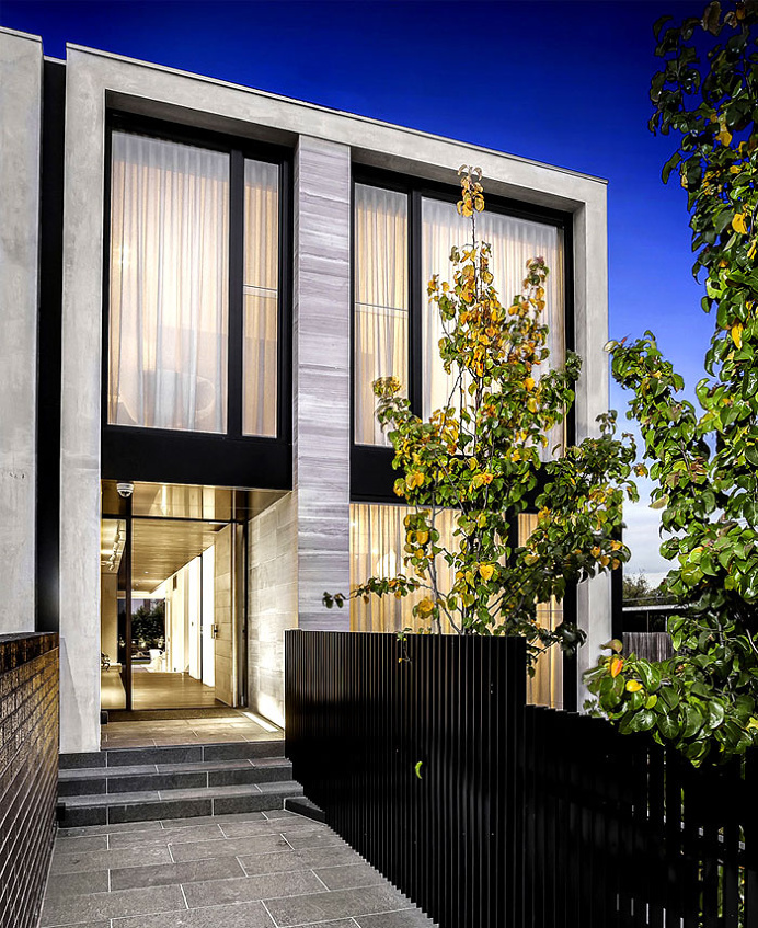 Architecton Designed Residences with Sophisticated Architectural Style in Melbourne - architecture, house, house design, dream home, #archit