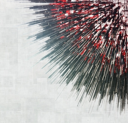 CITY OF WORDS - O CITY on the Behance Network #city #fragmented #digital #art #rapid