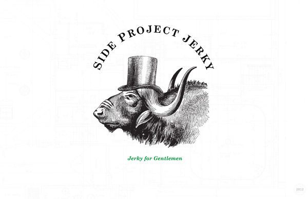 Side Project Jerky on the Behance Network #logo