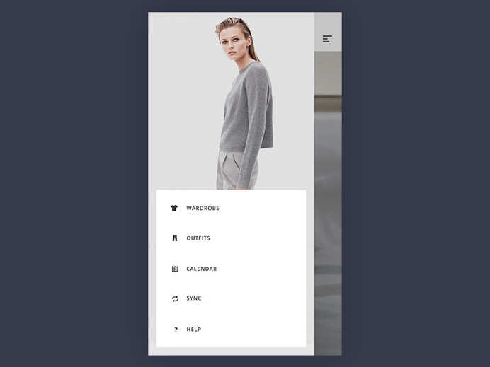 #Sidemenu, #Shop, #UI, #app
