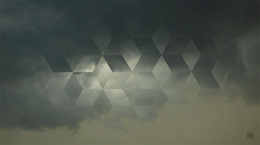 tint.de ¬ Cloud Fracture #geometry #pattern #cloud #sky #cubes #fracture #photography