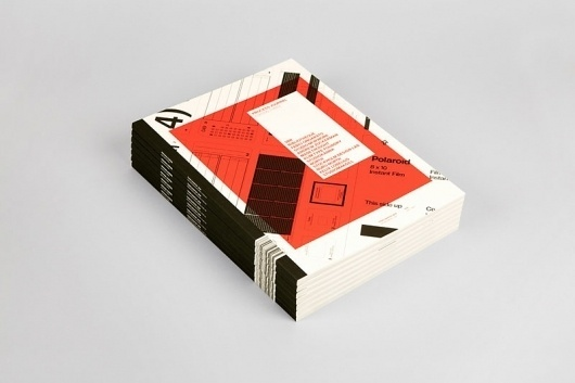 Graphic-ExchanGE - a selection of graphic projects #print #orange #book #black